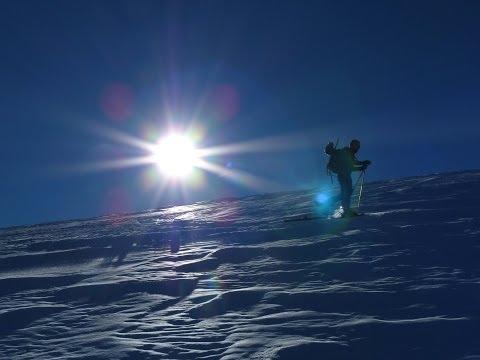 Ascensión y descenso con esquís de la Liset de Hount Blanque
