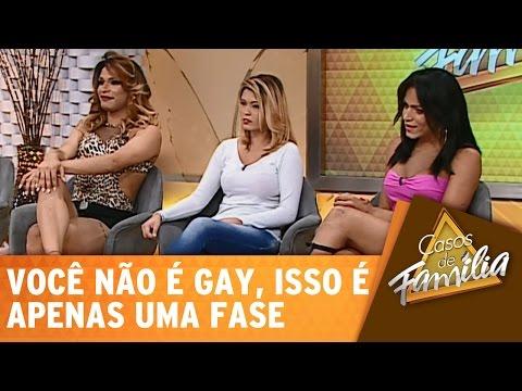 Casos de Família (07/01/15) - Você não é gay, isso é apenas uma fase! - Completo