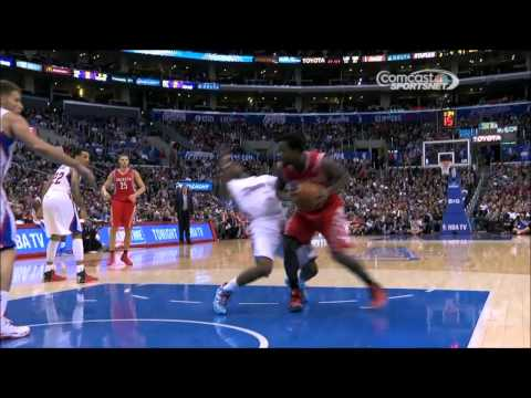 Chris Paul's flop on Patrick Beverley