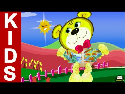 Nursery Rhymes - Round And Round The Garden - New Kids Songs And Tales From TingooKids