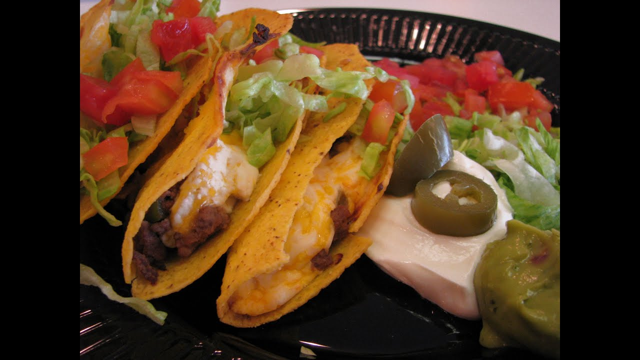 Betty's Beef and Cheese Tacos - YouTube
