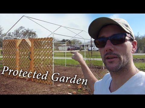 Protecting the Back To Eden (BTE / Mulch) Garden