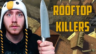 ROOFTOP KILLERS! (Garry's Mod: Murder)