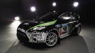 Vid�o Ken Block's Ford Fiesta Monster World Rally Team 2010 par MonsterWorldRally (4500 vues)