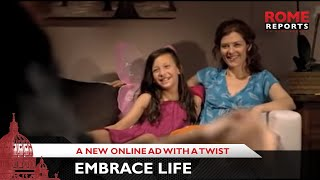 Embrace Life: A New Online Ad With A Twist