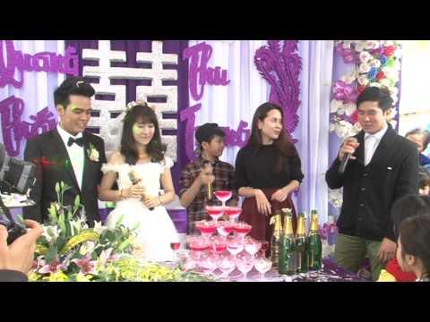 Nguyễn Quang Anh The Voice Kids Hát trong Đám cưới anh trai Quang Thắng - Thu Trang