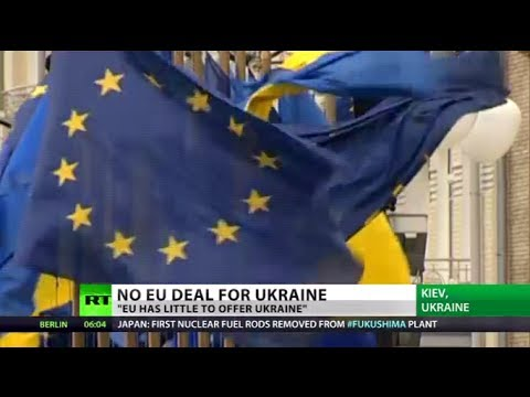 Lucky Escape? Ukraine jumps from 'sinking ship' as EU deal suspended
