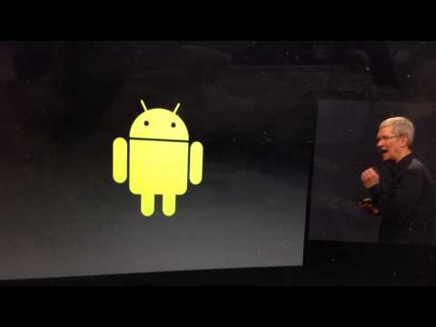 Apple/Tim Cook on Android