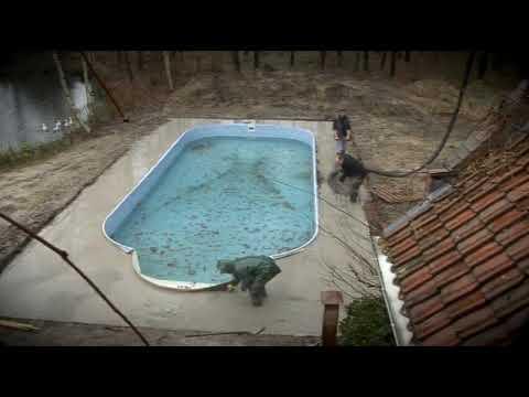 Zwembad constructie en aanleg youtube for Constructie piscine