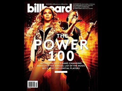 BEYONCE & JAY Z : Top Billboard's Music Power 100 list