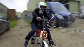Chris Harris Vs Rory Reid: It's the Motochimp GP - Top Gear. Watch online.