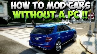 GTA 5 Glitches Mod Cars Online Without A PC Mod Rare