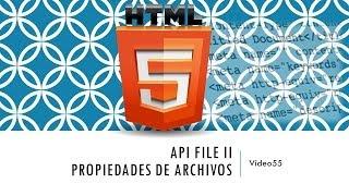Curso de HTML 5. Parte 55