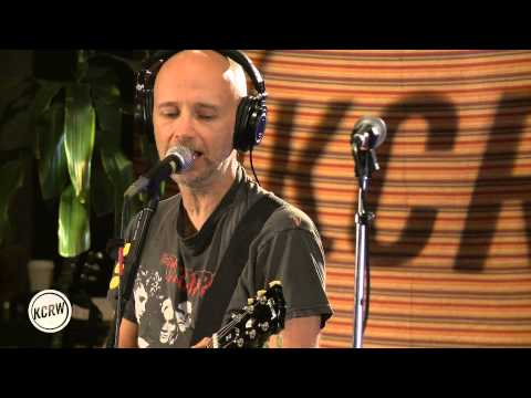 Moby performing