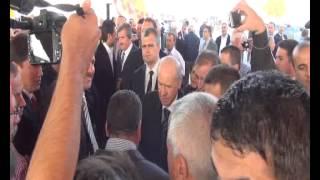 Devlet Bahçeli Turgutlu'da coşkuyla karşılandı