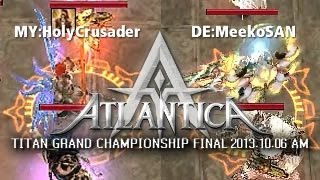 iAO Titan AM Final 2013-10-06: MY:HolyCrusader vs. DE:MeekoSAN