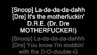 Dr Dre Feat. Snoop Dogg And Nate Dogg The Next Episode
