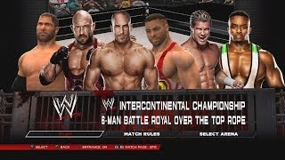 WWE 2K14 Battle Royal For The Intercontinental