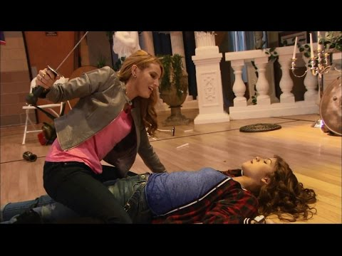 Zendaya & Bella Thorne Full Fight Scene - K.C. Undercover (Spy-anoia Will Destroy Ya)