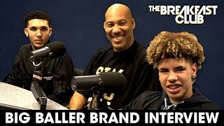 Lavar Ball & Sons On Family Business, Discipline, Donald Trump + More