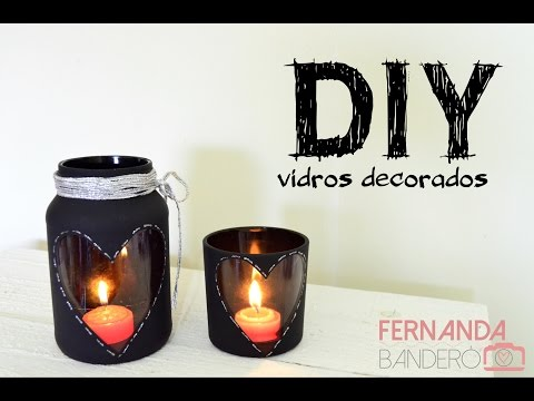 DIY Vidros Decorados