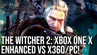 The Witcher 2 - Xbox One X vs PC vs Xbox 360 Grafikai Összehasonlítás