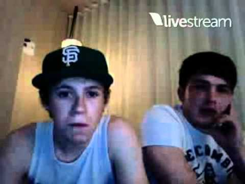 Niall Horan and Josh Devine Twitcam Monday 18 June 2012 pt 2
