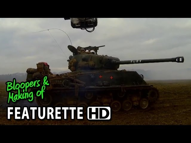Fury (2014) Featurette - Production Sizzle