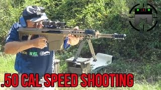 Barrett .50 Cal World Record: 6 Shots in 1 Second