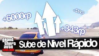 GTA V Online : Subir De Nivel Muy Rápido [6000rp/min