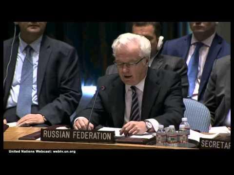 UKRAINE  & MH17-  UN SCl Representative of Russia 2014-07-18