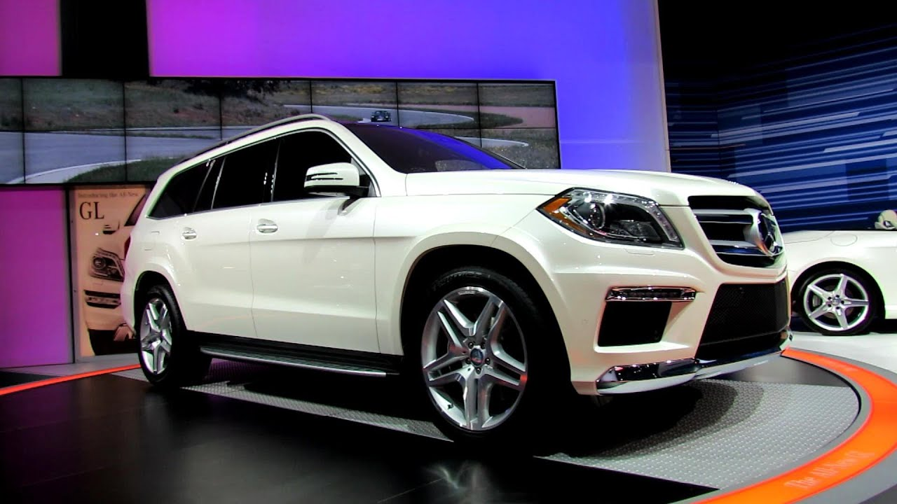 2013 mercedes benz gl550 exterior debut at 2012 new york for 2013 mercedes benz gl550 for sale