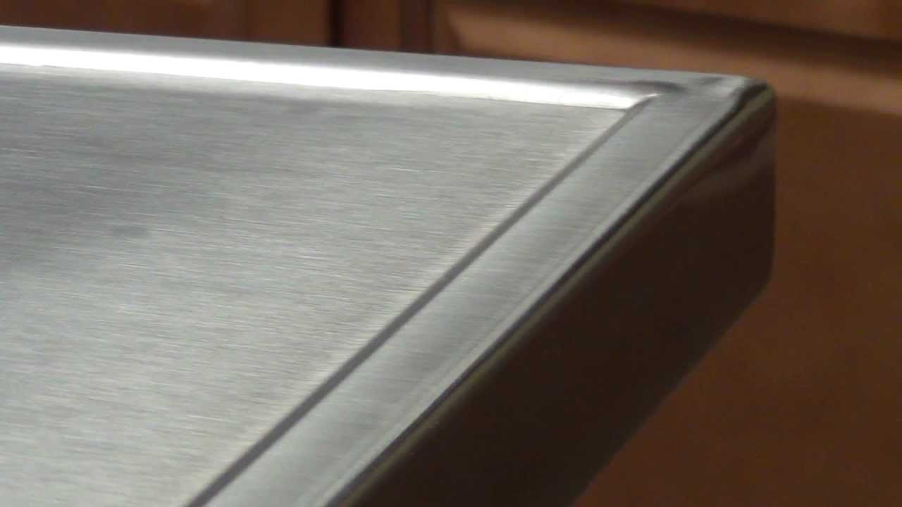 Countertop Drip Edge : No-Drip