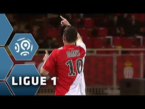 Goal James RODRIGUEZ (55' pen) - AS Monaco FC-FC Sochaux-Montbéliard (2-1) - 08/03/14 - (ASM-FCSM)