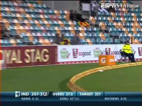 CB Series: 11th ODI- Kohli-133 not out