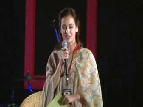 Alcoholism is a disease: Dia Mirza at TEDxIIMRanchi