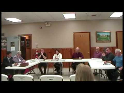 Altona Town Board Meeting 12-9-13