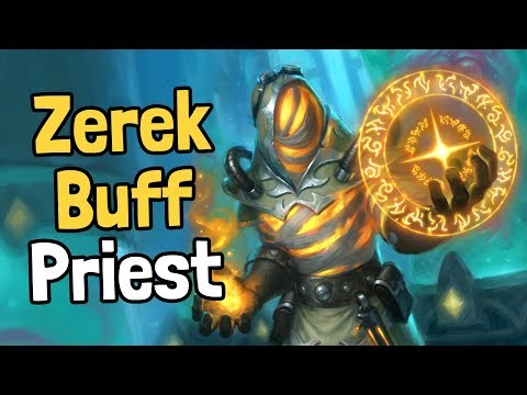 Zerek Buff Priest Decksperiment - Hearthstone