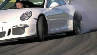 [Porsche 911 GT3 on Angelsey Circuit] Video