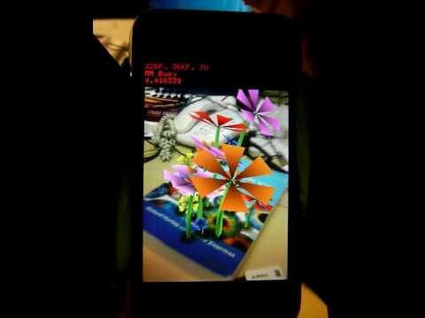 PTAM + AR on an iPhone 3G