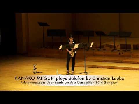 KANAKO MIKUNI plays Balafon by Christian Lauba