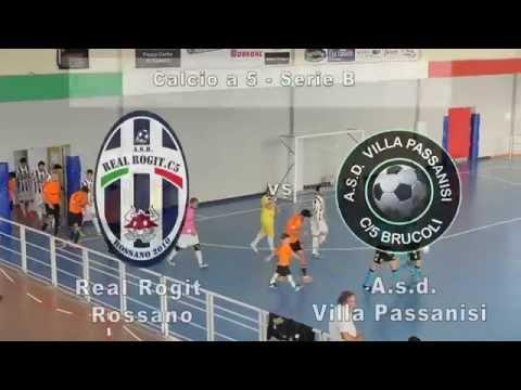 Serie B, Real Rogit - Villa Passanisi 3-4 (14/11/15)