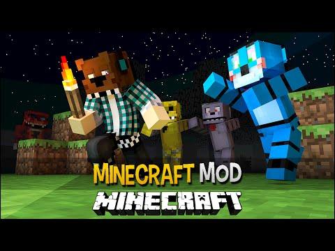 Minecraft Mod: Five Nights at Freddy's 2 ( Máscara do Freddy e Novos Personagens)