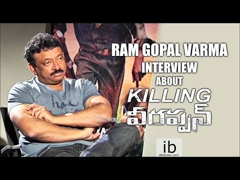 Ram Gopal Varma interview about Killing Veerappan