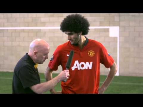 DHL TRICK CHALLENGE WITH MAROUANE FELLAINI