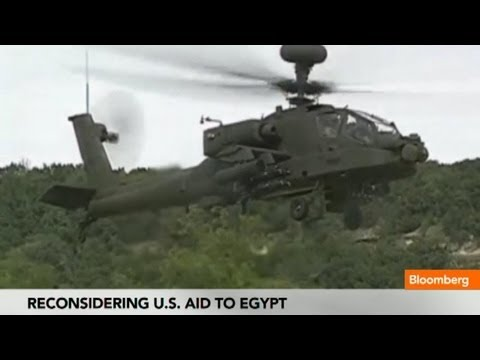 U.S. Reconsiders Weapons Supply, Aid to Egypt