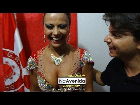 Viviane Araújo na Consulado do Samba - Exclusivo - Na Avenida