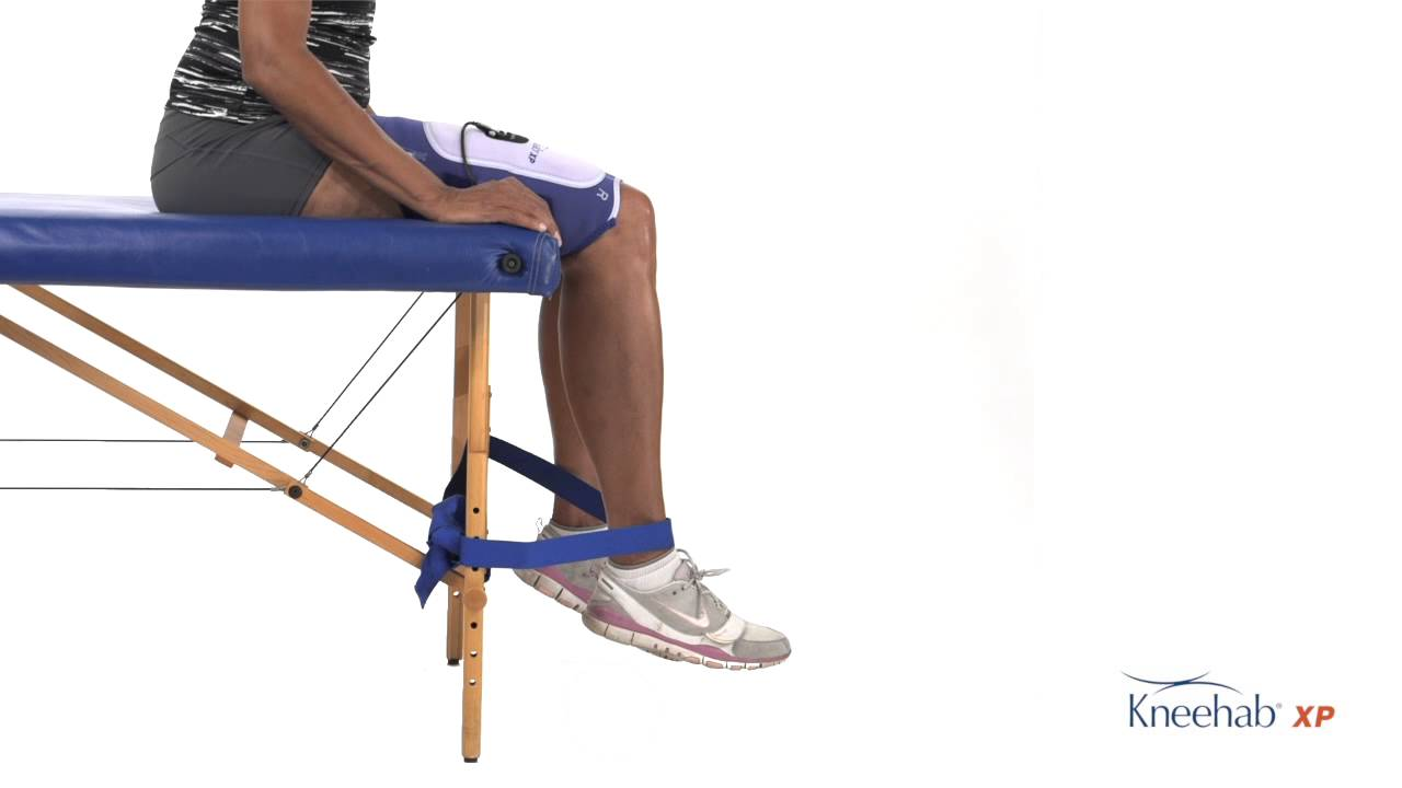 Quadriceps Strengthening with Flexed Knees (Non Weight ...