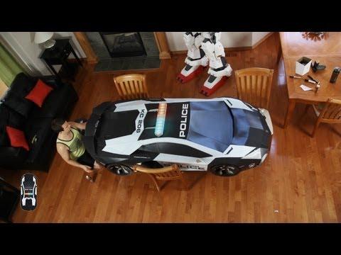 Lamborghini Aventador A-E2 . Ultimate Papercraft Supercar