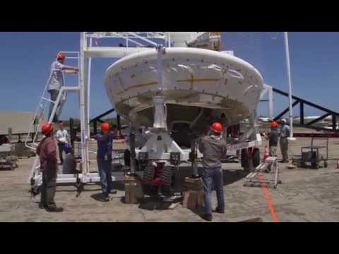 NASA Readies for Saucer-Shaped Test Vehicle Flight - June 2014